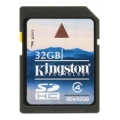 Флешка Kingston 32GB SDHC Class 4